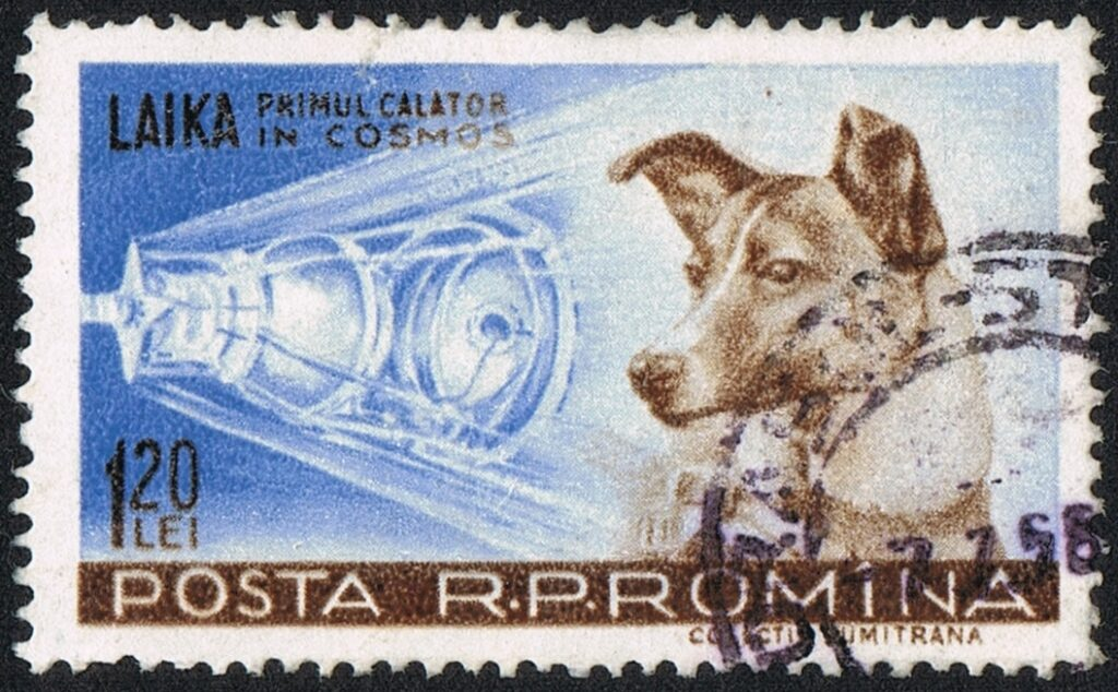 A 1959 Romanian stamp